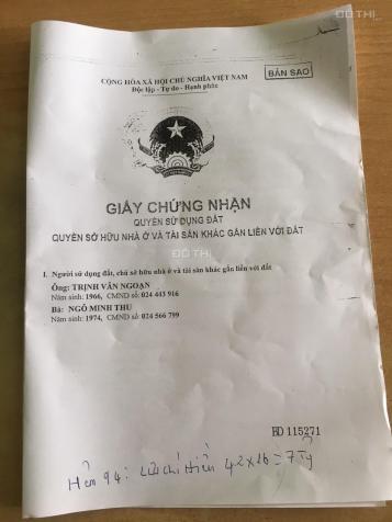Bán nhà riêng tại Đường Lưu Chí Hiếu, Phường Tây Thạnh, Tân Phú, Hồ Chí Minh diện tích 67.2m2, 7tỷ 12907888