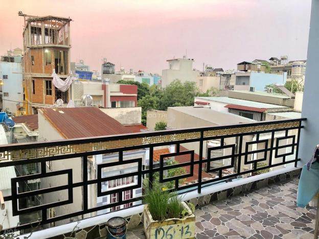 Bán nhà 3 tầng mới đường Số 11, P. Bình Hưng Hòa, Q. Bình Tân, 5.1x12.9m hẻm thông 6m 12908827