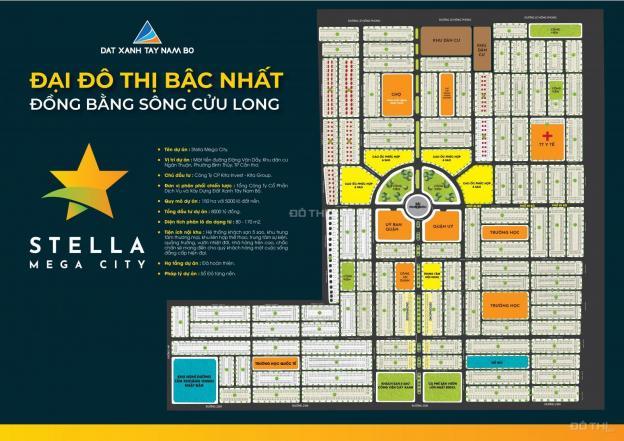 Bán đất nền dự án tại dự án Stella Mega City, Bình Thủy, Cần Thơ diện tích 100m2, giá 19 triệu/m2 12921474