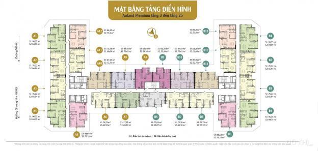 Cắt lỗ 200 triệu, căn hộ CC Anland Premium, căn 12 tầng 12A, DT 66,02m2, 2 PN, 2 wc, giá 1,8 tỷ 12932393
