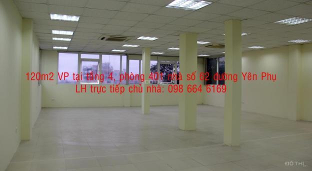 91m2 VP cho thuê tại đường đôi Yên Phụ với giá rẻ và DV tốt. LH trực tiếp chủ nhà: 098 664 6169 12866046