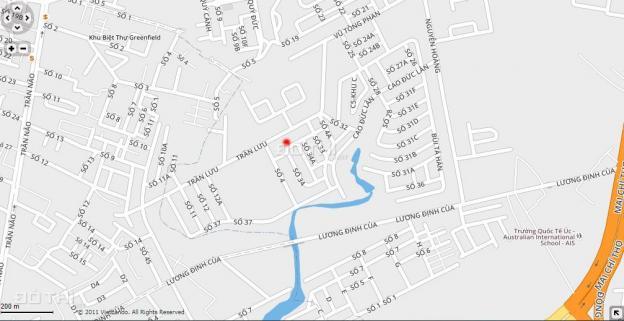 Bán nhà rộng dạng villa mặt tiền đường Số 34, khu đô thị An Phú An Khánh, Quận 2, 8m x 16m, 2 lầu 12944521