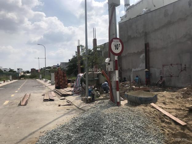 Bán đất mặt tiền đường nhựa 12m Nguyễn Văn Quá, 5x10m, giá 2 tỷ 650tr, gần cầu Chợ Cầu qua Gò Vấp 12948565