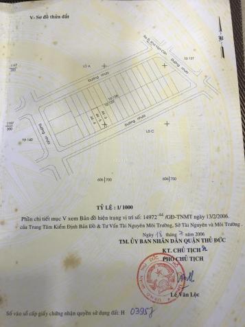 Bán đất dự án Q. 3 đường 23, P. Hiệp Bình Chánh, Thủ Đức. DT 5x18m thổ cư CN 90m2 giá 78 tr/m2 12950452