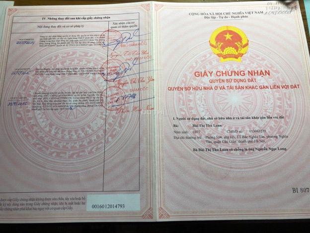Bán căn hộ tập thể Bắc Nghĩa Tân, ngõ 120, Hoàng Quốc Việt, Cầu Giấy, Hà Nội 12963339