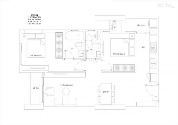 50 suất đầu tiên dự án Ascent Garden Homes, TT 50% nhận nhà, đón đầu cầu Thủ Thiêm 4 12967042