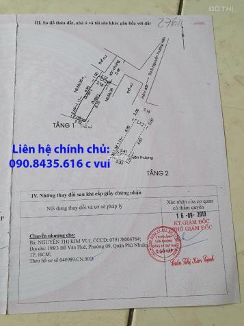 Chính chủ cần bán căn nhà 136/15/25 đường Nguyễn Thượng Hiền, P1, Q. Gò Vấp, giá 2,4 tỷ 13001086