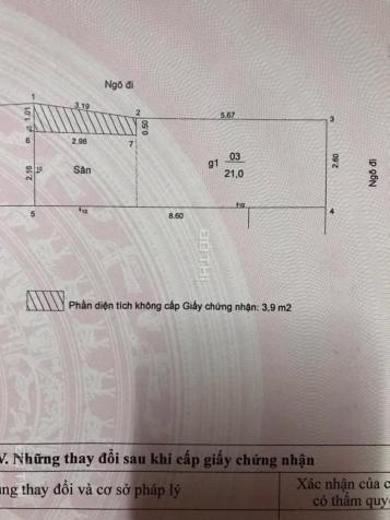 Bán nhà đất lô góc ngõ 79 Thổ Quan, Khâm Thiên: 25m2, giá: 1.45 tỷ 13007879