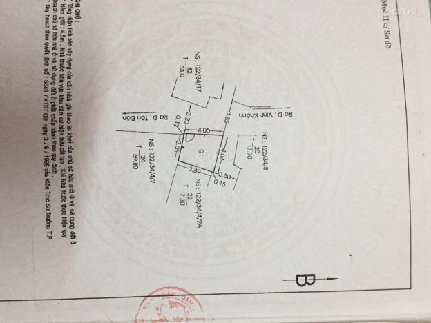 Chính chủ cần bán nhanh nhà hẻm tại đường Tôn Đản, phường 10, quận 4, giá tốt 13019036