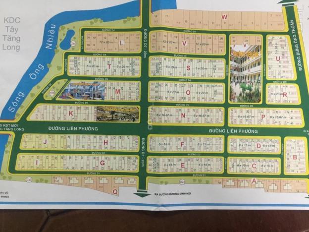 Bán đất nền dự án Sở Văn Hóa, đường Liên Phường, Phú Hữu Q. 9, sổ đỏ riêng 13062947