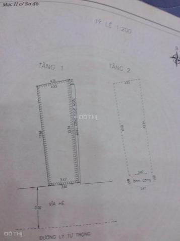 Bán nhà mặt tiền Lý Tự Trọng 52m2 vị trí vip đối diện tòa căn hộ 20 tầng và CATP, 9 tỷ bán gấp 13088811