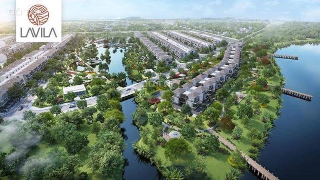 Bán gấp biệt thự Lavila sổ hồng 6x17.6m, 2 lầu, 9 tỷ6, full thuế phí, hướng Đông Nam 13144964
