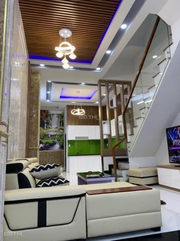 Bán nhà mới hoàn thiện mặt tiền đường 10m Huỳnh Tấn Phát, Nhà Bè, DT 4,5x15m. Giá 5,5 tỷ 13208630