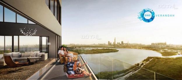 Cần bán lỗ 3PN One Verandah View tuyệt hảo gồm sông Sài Gòn, Bitexco, view hồ bơi, sân tennis 13319885