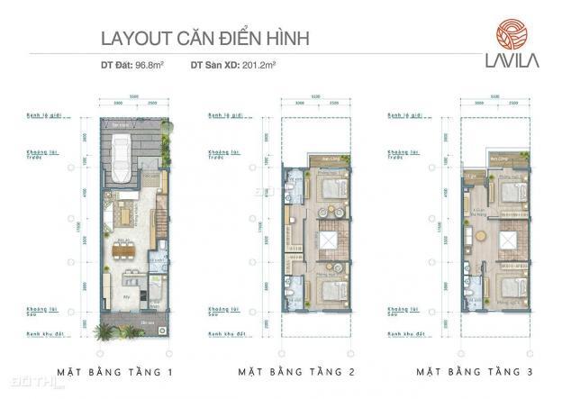 Bán gấp biệt thự Lavila 5,5x16m, 2 lầu, góc công viên 8.5 tỷ, hoàn thiện ngoài 13377708
