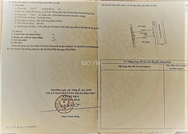 Cần bán đất mặt tiền, Quốc Lộ 1A có sổ đỏ giá chỉ 650 triệu + hỗ trợ vay 50% 13447985