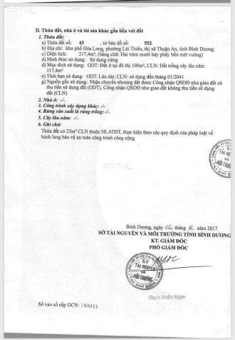 Chủ cần bán MT khu phố Hòa Long 1 trệt, 3 lầu ở Lái Thiêu, Bình Dương 13459857