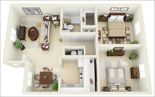 Chính chủ căn hộ 1PN - 3PN Jamona Heights, Q. 7, DT 55m2 - 95m2, giá 2.1tỷ 13516710