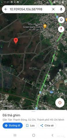 Đất khu dã ngoại, xã Tân Thạnh Đông, Củ Chi, giá 620 ngàn/1m2 13534637