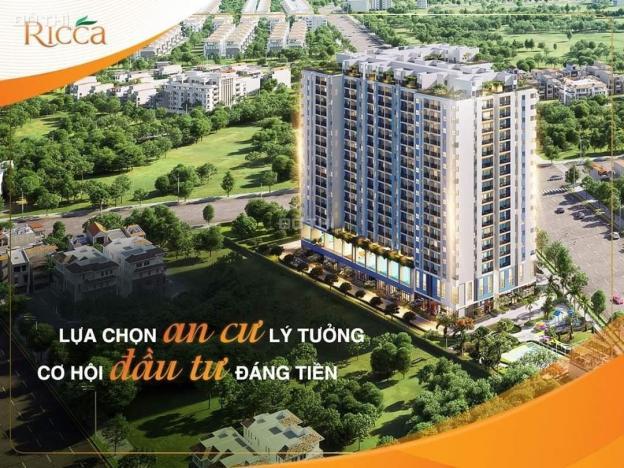 Chủ bán gấp căn hộ Ricca 1 + 1PN, 52m2, tầng 12. Giá cất nóc chỉ từ 1.8 tỷ/ căn (VAT) 13570007