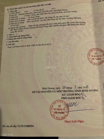 Bán đất Định Hoà, Thủ Dầu Một, DX 064 DT 5x35m, thổ cư 80m2 giá 2,25 tỷ 13582705