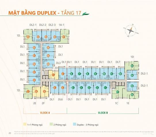 03 căn duplex Ricca cuối chỉ 31 triệu/m2. Thanh toán 1.5%/tháng, tặng 14m2 sân vườn 13600220