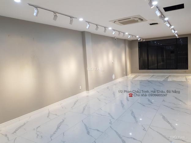 Cho thuê tòa nhà 172 Phan Châu Trinh, 9 tầng, thang máy, hoàn công 2020, 1050m2 sàn, 140tr/tháng 13607419