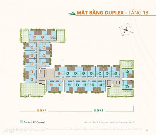 Duplex Ricca 112m2 giá gốc CĐT, chỉ 31 triệu/m2 thanh toán 1.5%/tháng. Mua nhà được tặng sân vườn 13610347
