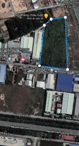 Bán hơn 2 ha 8 đất Phường Hòa Phú trong khu công nghiệp Vsip 2 MT đường dân chủ ngang 113x265m 13620700