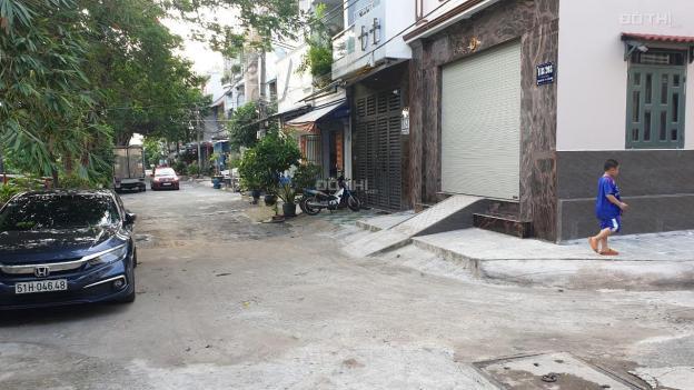 Cho thuê nhà phố trục đường 118/127A, Phan Huy Ích, phường 15, quận Tân Bình, giá 7tr/th 13632881