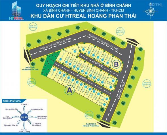 Nền góc 2MT B1 Hoàng Phan Thái, Q. Bình Chánh, sổ riêng, xây dựng tự do 13640963