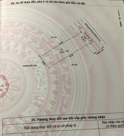 Bán đất mặt tiền DX 65 cách đường Võ Văn Kiệt 100 m 10x36m thổ cư 60m2, tổng diện tích 362,4 m2 13629046