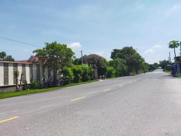 Bán đất Củ Chi, lô đất mặt tiền đường Ba Sa 2 xe container tránh nhau, diện tích 484m2, có 300m2 TC 13654581