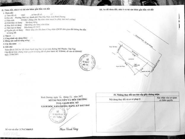 Bán đất mặt tiền Mỹ Phước Tân Vạn hai mặt tiền, đằng sau đất còn mặt tiền đường nhựa 6m 13661445