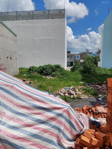 Bán đất 4x14m, đường 8m có lề, khu nhà cao tầng, SHR, xây dựng ngay, đường 18B, P. Bình Hưng Hòa A 13667184