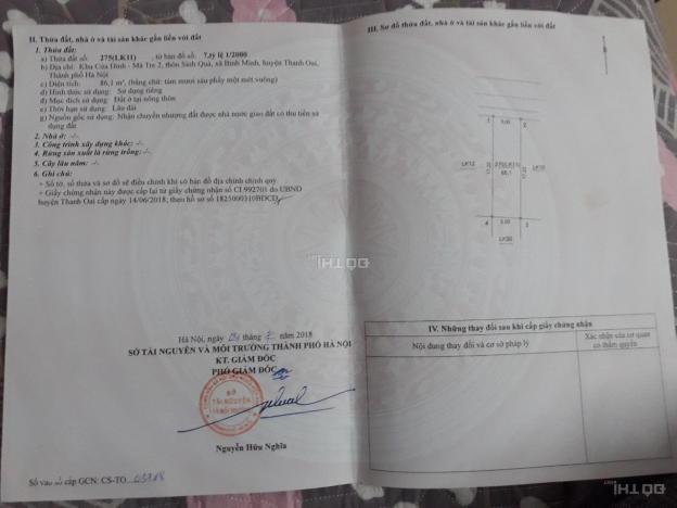Cần tiền bán gấp mảnh đất đấu giá xã Bình Minh 13680136