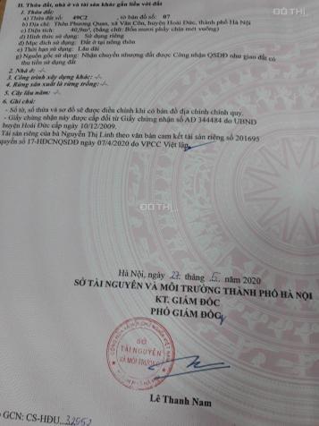 Bán đất Vân Côn - Hoài Đức - giá 22.x tr/m2 13713006