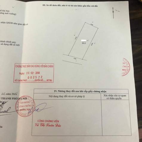 Bán gấp mảnh đất 192 Lê Trọng Tấn - Thanh Xuân - 65m2 chỉ hơn 3 tỷ - gần ô tô - SĐCC 13755734