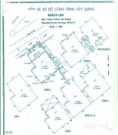 Bán khách sạn mặt tiền Lê Thị Riêng Quận 1 DT đất 365m2 với 8 tầng có hồ bơi 13731388