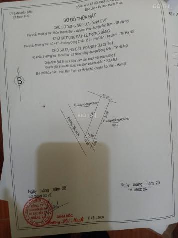 Chính chủ muốn bán lô đất thôn Lâm Trường, xã Minh Phú, huyện sóc Sơn, Hà Nội. Vị trí đẹp thoáng 13815468