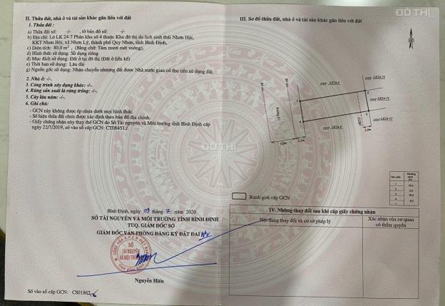 Bán đất nền ven biển Tp Quy Nhơn Bình Định giá chỉ 29.9tr/m2 bao sang tên công chứng 13816191