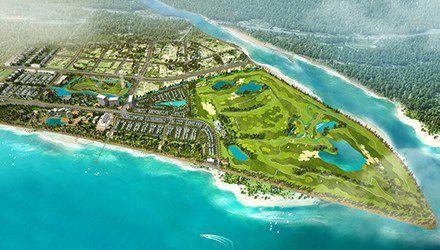 Sắp có dự án sân golf lớn bậc nhất miền Trung